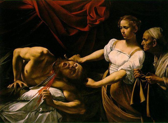 "Caravaggio, ""Judith Beheading Holofernes"""